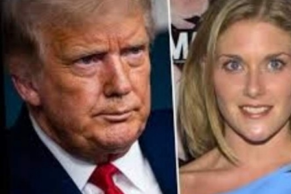 Una exmodelo acusa al presidente Donald Trump de agresión sexual